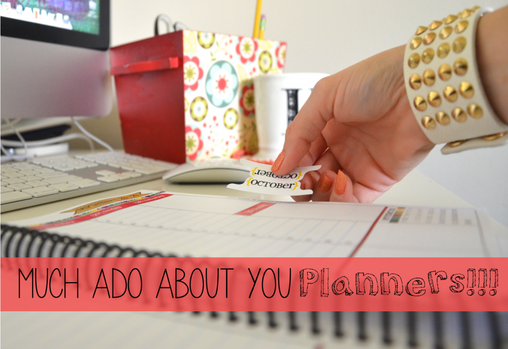 much ado about you paper planners